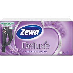 Zewa Deluxe Lavender Dreams papírzsebkendő 90db