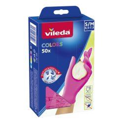 Vileda Color eldobható kesztyű latexmentes - Magenta