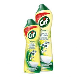 Cif Cream Lemon súrolókrém mikrokristályokkal