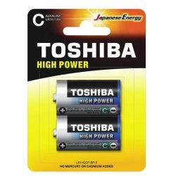 Toshiba alkáli elem C (Baby elem)/2db