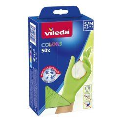 Vileda Colors eldobható kesztyű latexmentes - Lime