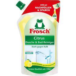Frosch Fürdőszoba tisztító citrus utántöltő 500ml