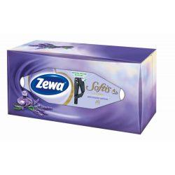 Zewa Softis Lavender dobozos papírzsebkendő