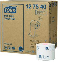 Tork Mid-size toalettpapír 1 rétegű T6