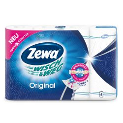Zewa  Wisch & Weg Original papírtörlő 4db/csomag