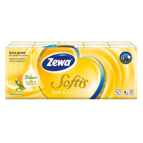 Zewa Softis Soft&Sensitive 10x9
