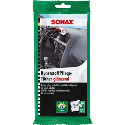 Sonax Műanyagápoló Kendő 10 db-os