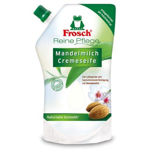 Frosch Folyékony szappan Mandulatej - utántöltő