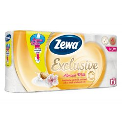 Zewa Exclusive Almond Milk 8db/csomag