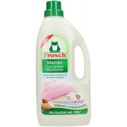 Frosch Folyékony mosószer finom textiliához - Mandula 1,5l