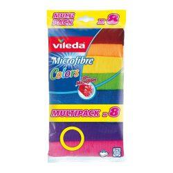 Vileda Color 8 mikroszálas törlőkendő