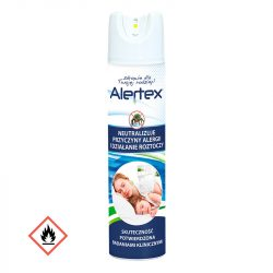 Alertex antiallergén kárpit-matractisztító spray 350ml