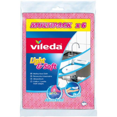 Vileda Light&Soft 6 db eldobható törlőkendő