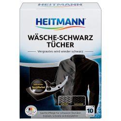 Heitmann Fekete színfrissítő kendő 10db
