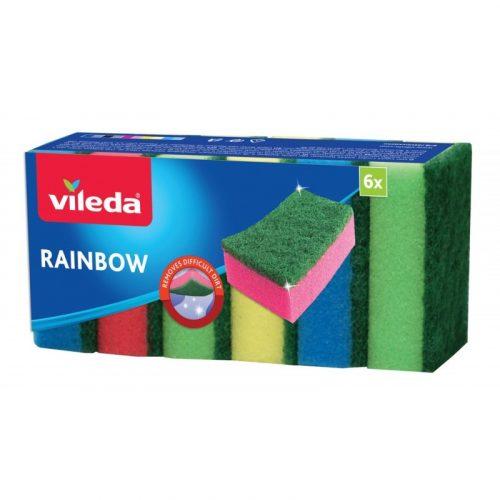 Vileda Rainbow mosogatószivacs 6db