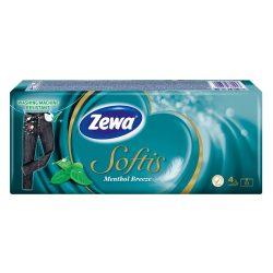 Zewa Softis Menthol Breeze papírzsebkendő 10x9