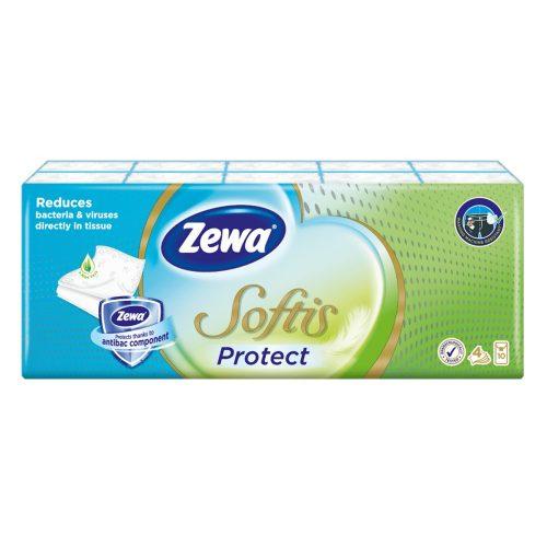 Zewa Softis Protect papírzsebkendő 10x9
