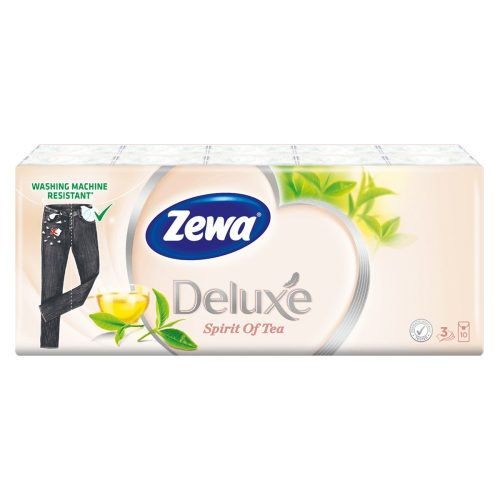 Zewa Deluxe Spirit of tea papírzsebkendő 10x10