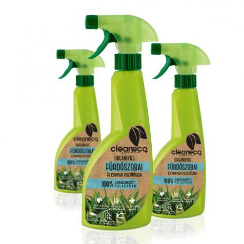 Cleaneco Organikus Fürdőszobai és Konyhai Tisztítószer  500ml