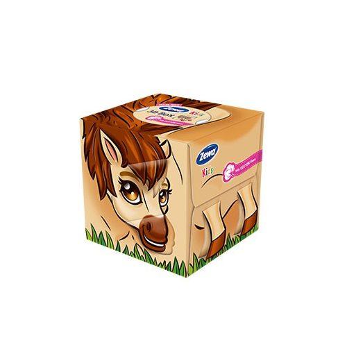 Zewa Kids 3D papírzsebkendő box póni