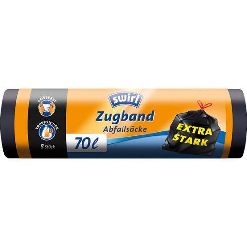 Swirl Extra erős szemeteszsák 70L-es 8db
