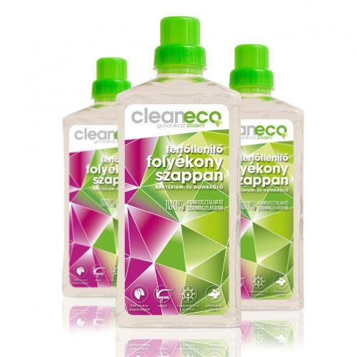 Cleaneco Folyékony szappan fertőtlenítő hatású 1l Kézfertőtlenítő
