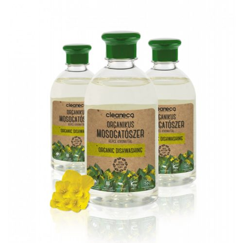 Cleaneco Organikus kézi mosogatószer - repce kivonattal 500ml