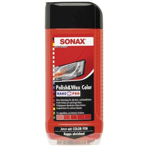 Sonax Polír és Wax  Nanopro - Piros