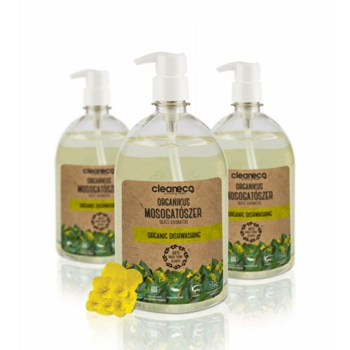 Cleaneco Organikus kézi mosogatószer - repce kivonattal 1l