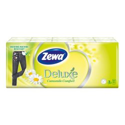 Zewa Deluxe Camomile papírzsebkendő 10x10