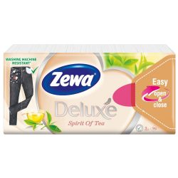 Zewa Deluxe Spirit of tea papírzsebkendő 90db