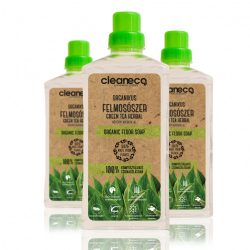Cleaneco Organikus Felmosószer green tea herbal illattal 1l