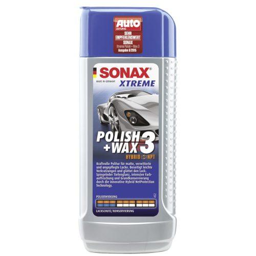 Sonax Xtreme Polír + Wax 3 Hybrid NPT